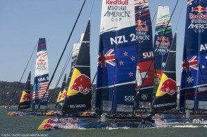 03/09/2013 - San Francisco (USA,CA) - 34th America's Cup - Red Bull Youth America's Cup - Day 3