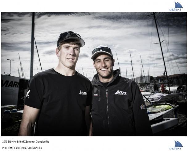 Pete Burling & Blair Tuke