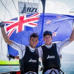 Peter & Blair take GOLD at ISAF Worlds