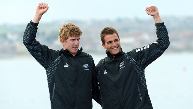Pete & Blair - ISAF World Sailors of the Year
