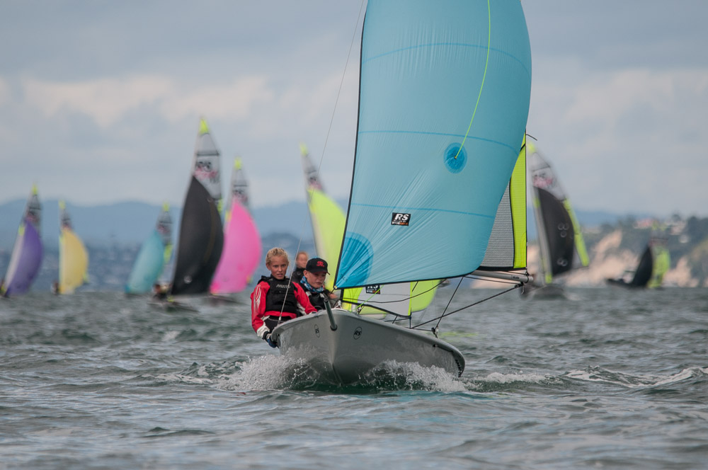 Liefting & Dickson claim NZL National Feva Title