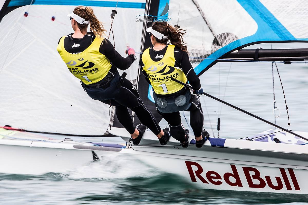 Alex Maloney & Molly Meech. Photo by Sailing Energy.