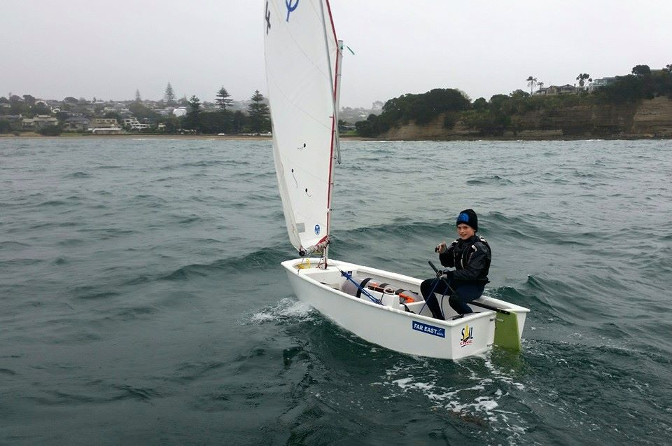 Charlie Thomlinson testing out his new Opti!