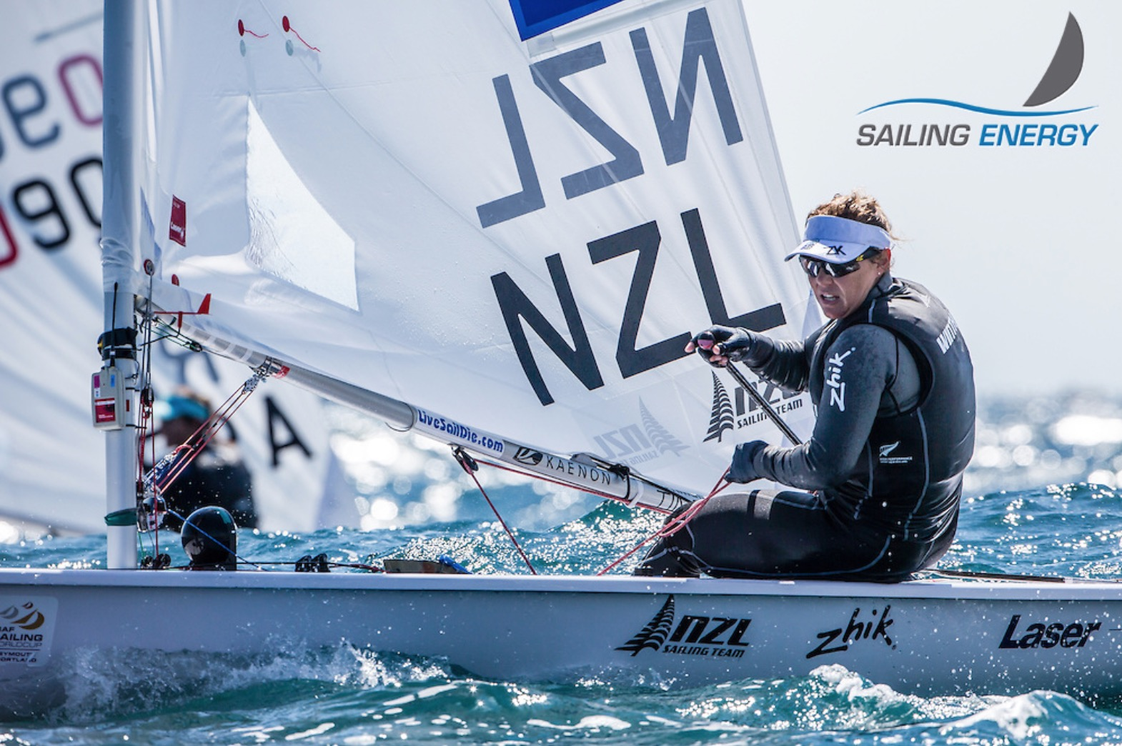 Sara Winther. Photo by Sailing Energy.