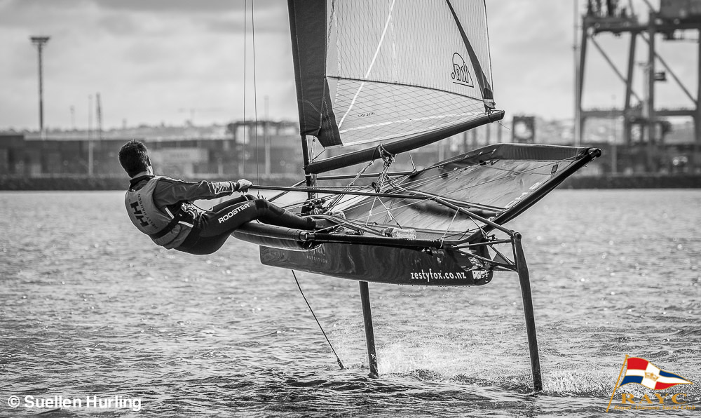 The MOths darting around the race-course to the delight of onlookers - Sailing Winter Series - Sunday 28 June 2015 © Suellen Hurling | RAYC