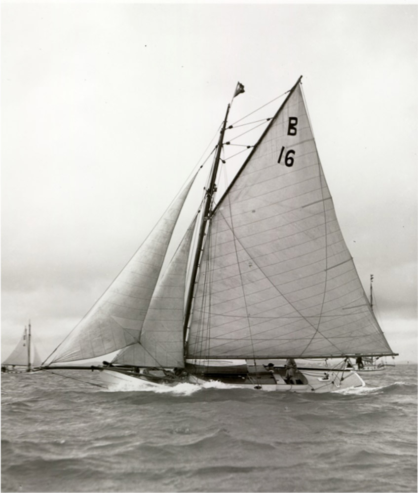 old yacht
