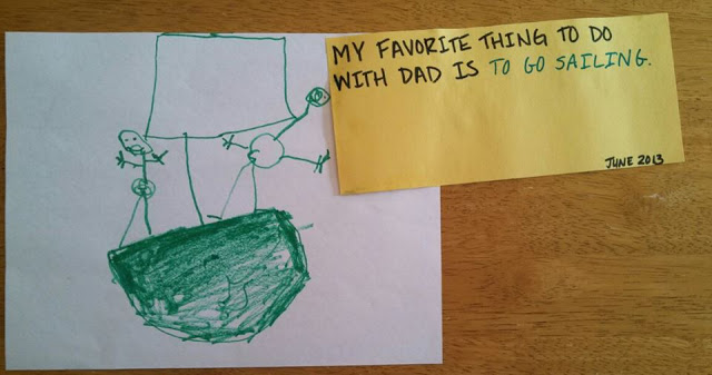 Fathers Day artwork by Aidan