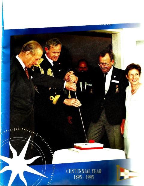 1995 Centennial Year royal visit by the Duke of Edinburgh (Small)