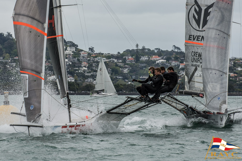 Racing Recap: 18' Skiffs are part of the fleet!
