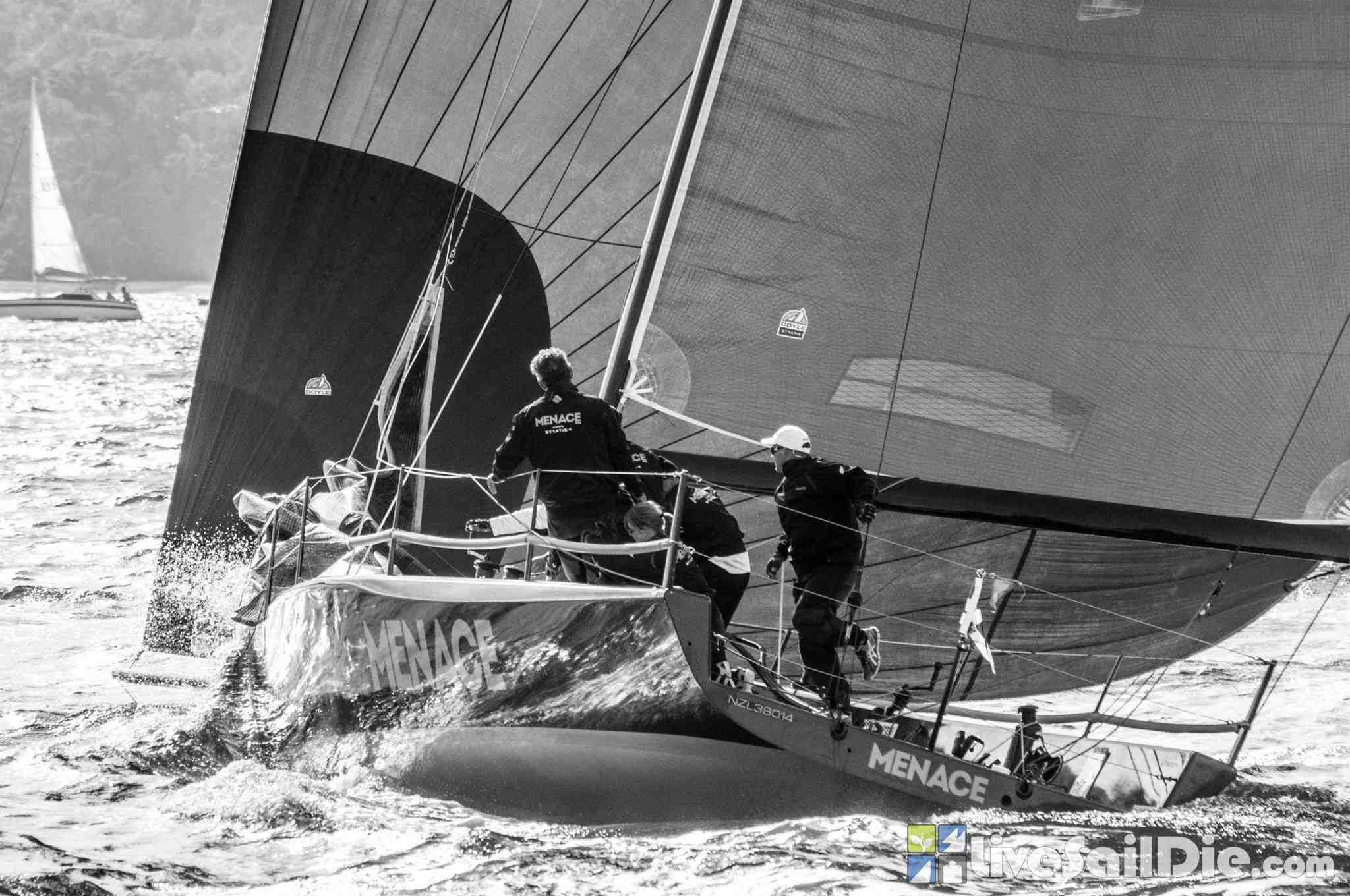 Mence finishes second at MC38 Pittwater Regatta