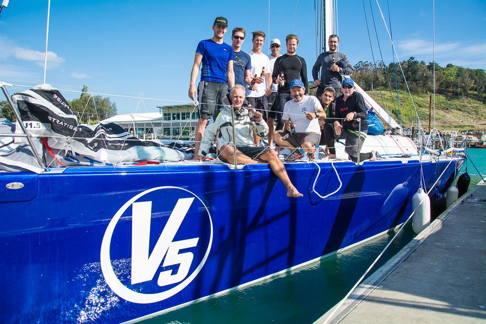 V5 Crew. Photo by Suellen Hurling