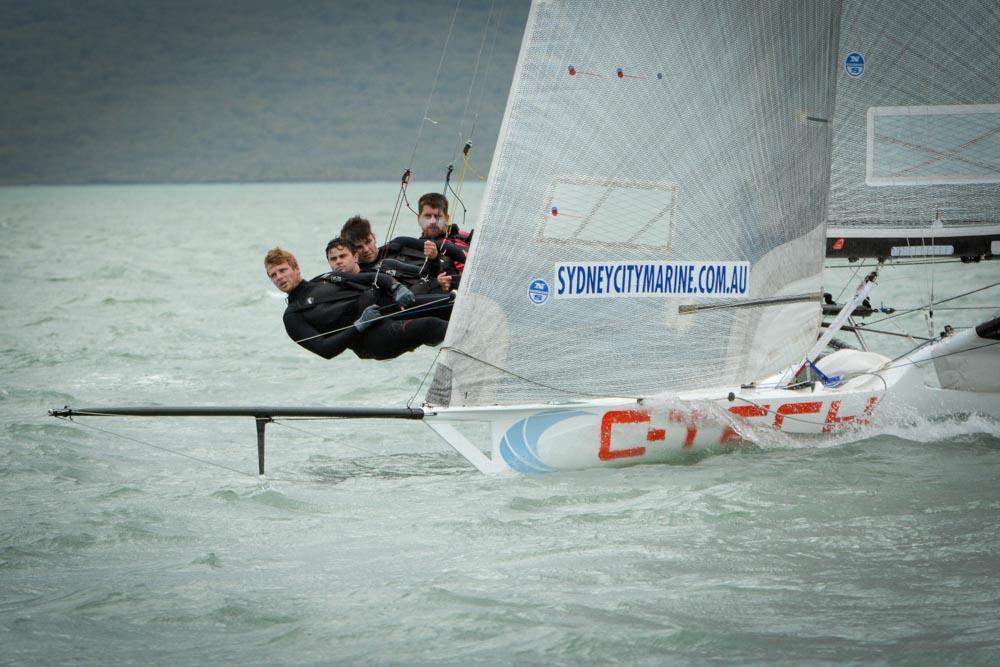 C-Tech Lead Auckland 18' Skiff Champs