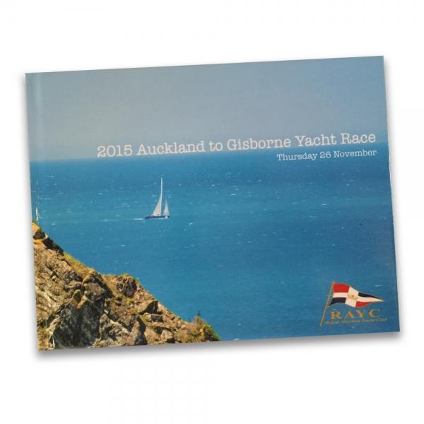 Auckland to Gisborne Yacht Race Book