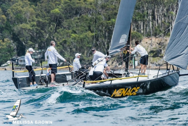 Menace finishes second on countback at MC38 AUS Champs