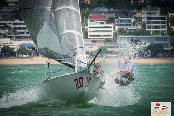 12' Skiff Nationals: RAYC Fleet Report