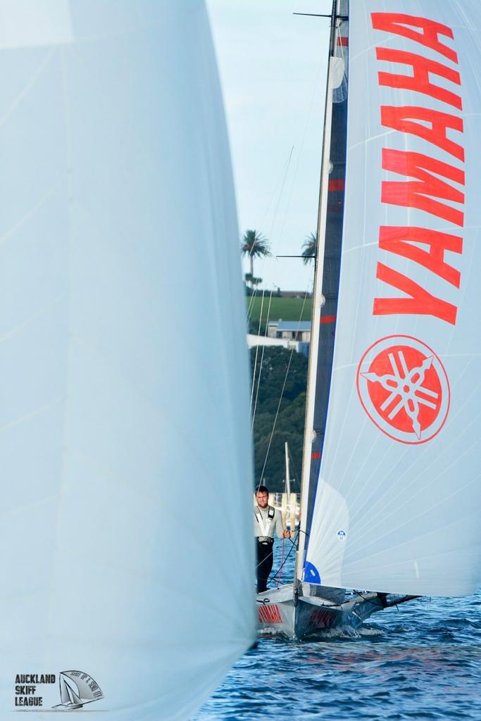 Yamaha. © Lissa Reyden | Auckland Skiff League