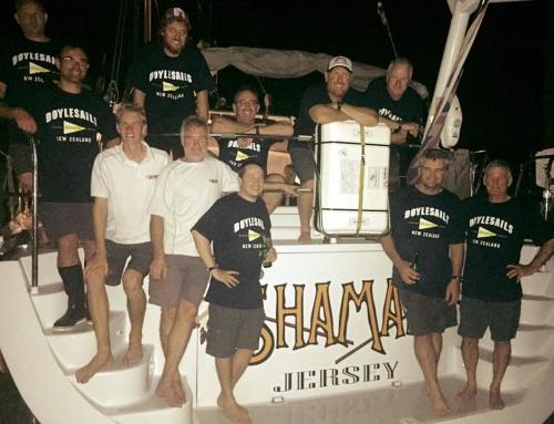 Shaman crew arrive