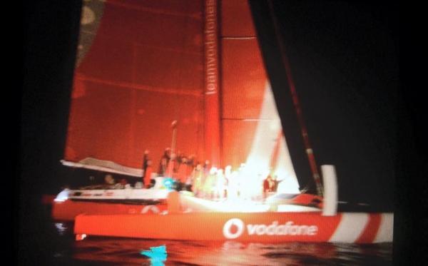 Team Vodafone Sailing smashes record