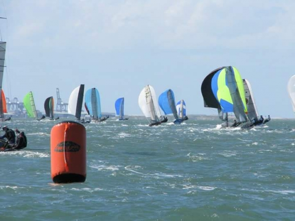 Kiwis at the 12' Skiff Interdominions