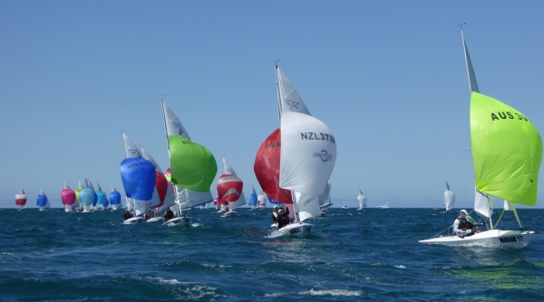 RAYC Flying 15 Teams have one race to go in the Worlds