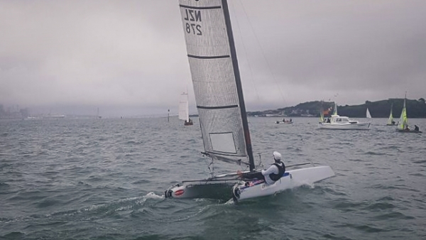 Harry takes the A-Class Helm