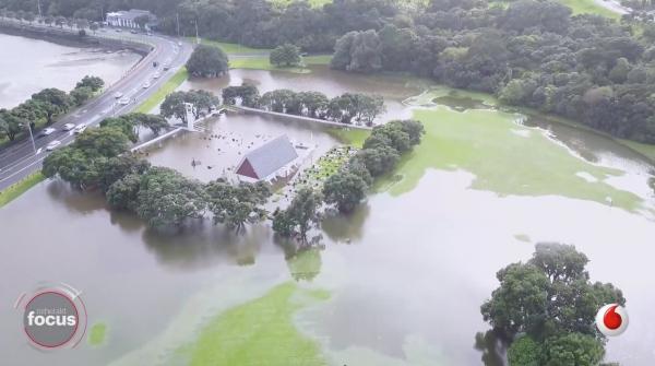 Ngāti Whātua Ōrākei urupā and church flooded