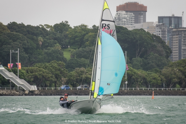 Liefting & Dickson win back to back RS Feva Nationals