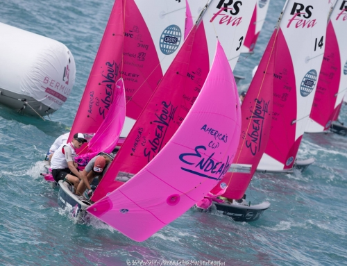 Eli & Rose win RS Feva Endeavour regatta in Bermuda