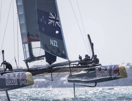 NZL Sailing Team win Youth AC Qualifiers