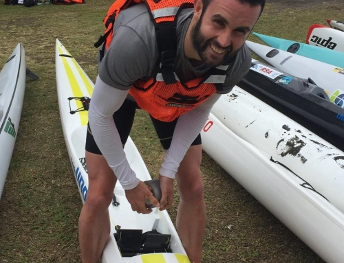 Andy Mowlem 9th at Canadian Surf Ski Champs