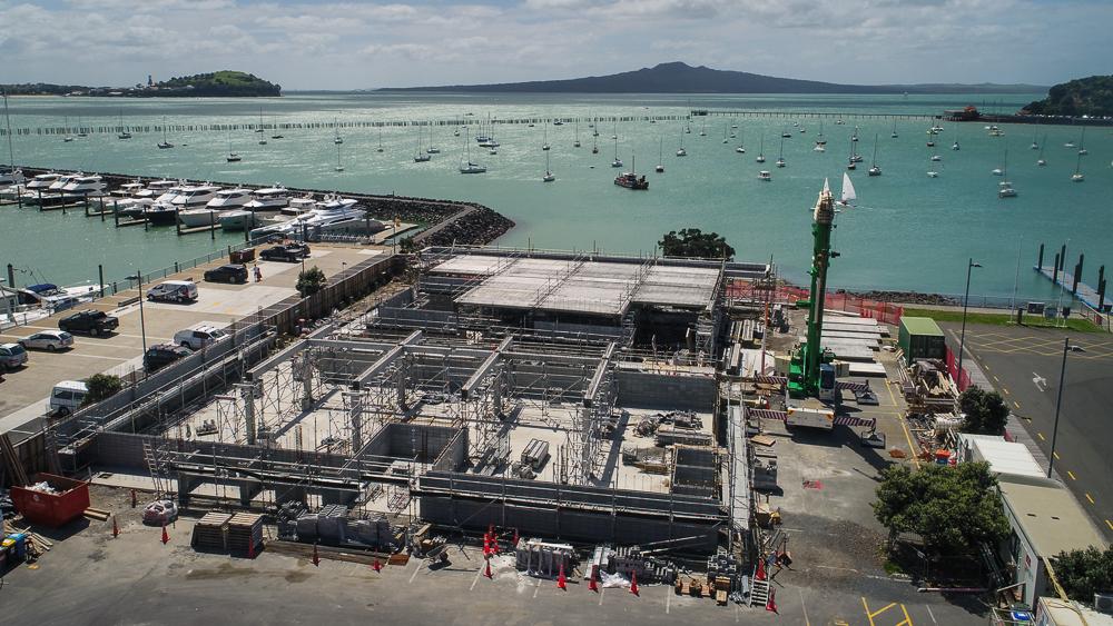Progress at the Hyundai Marine Sports Centre