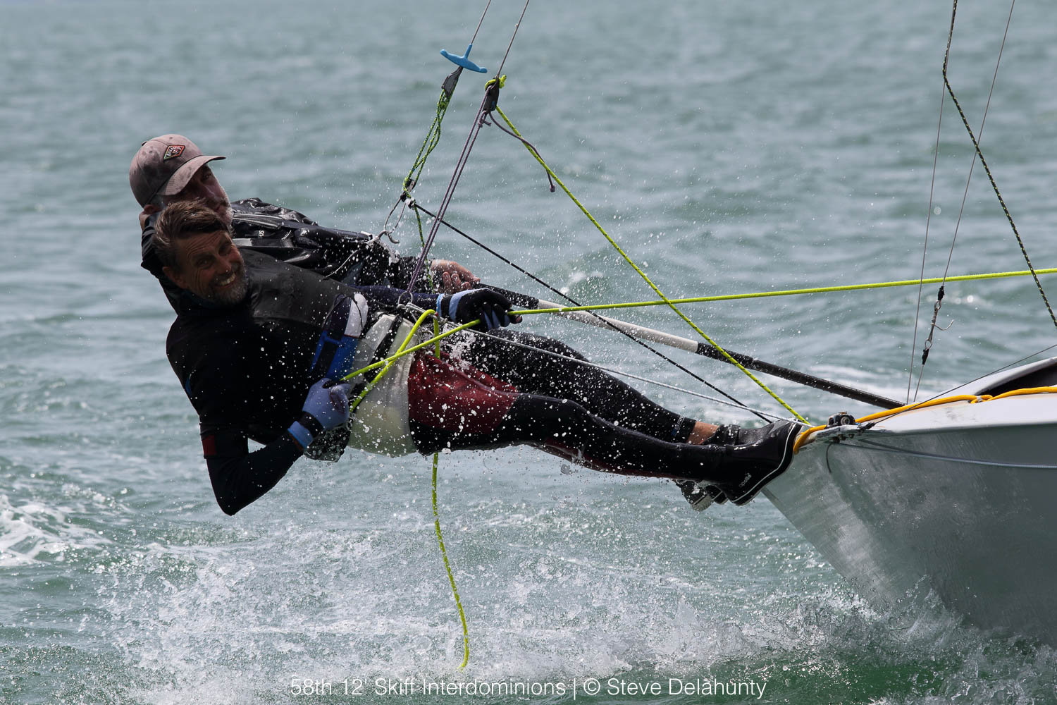 58th 12′ Skiff Interdominions: Champagne sailing, ripped kites
