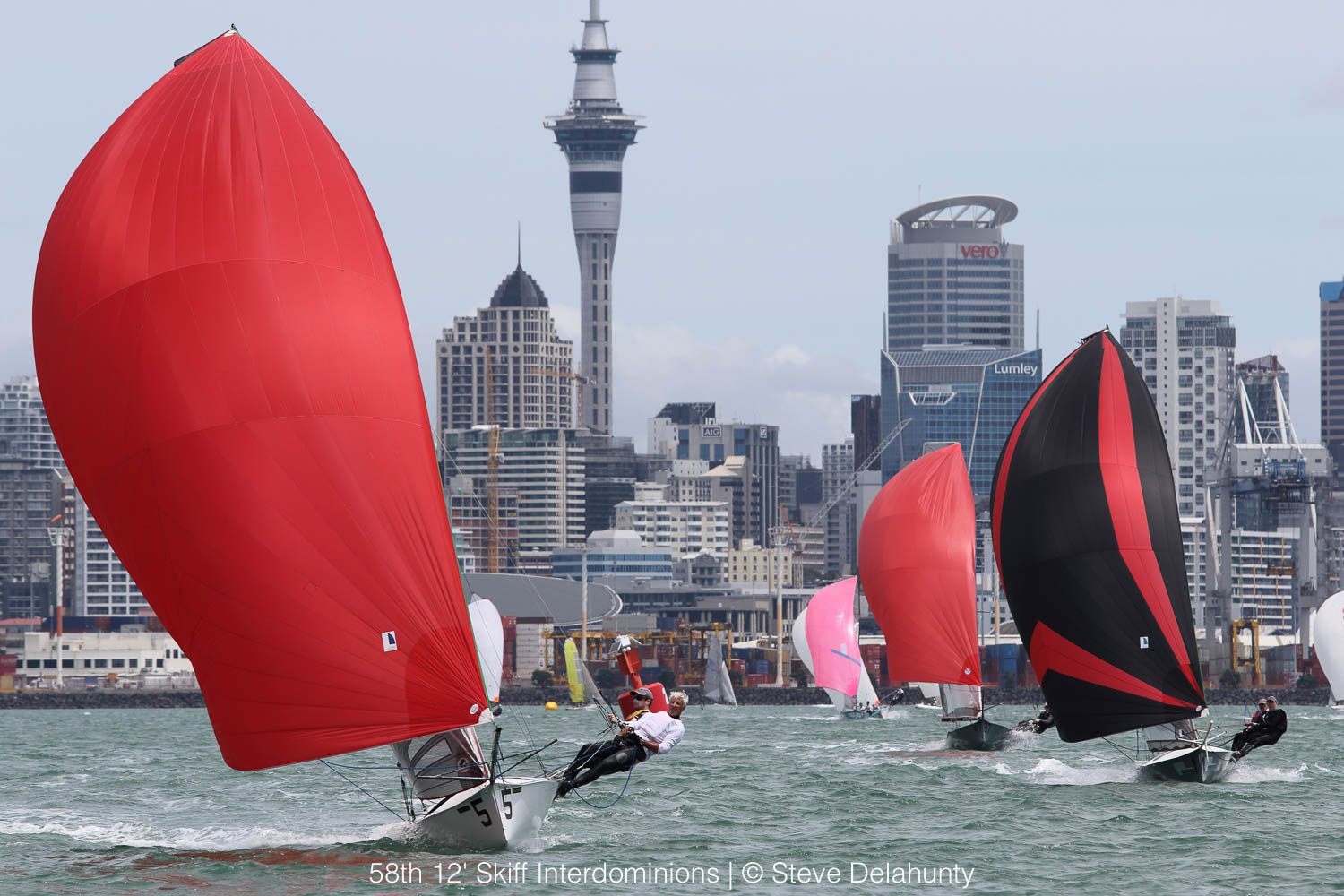 58th 12′ Skiff Interdominions: LIVESTREAM Replay Races 5, 6, 7 & 8