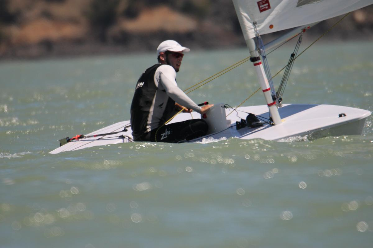 Andrew McKenzie wins third consecutive Laser Nationals