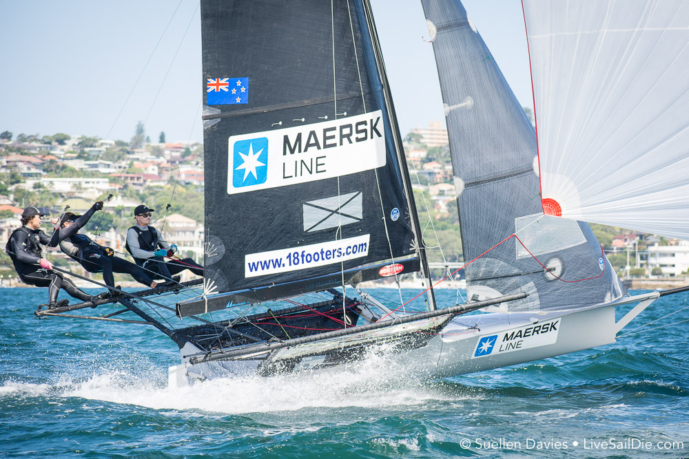 Kiwis win Race 1 of JJ Giltinan