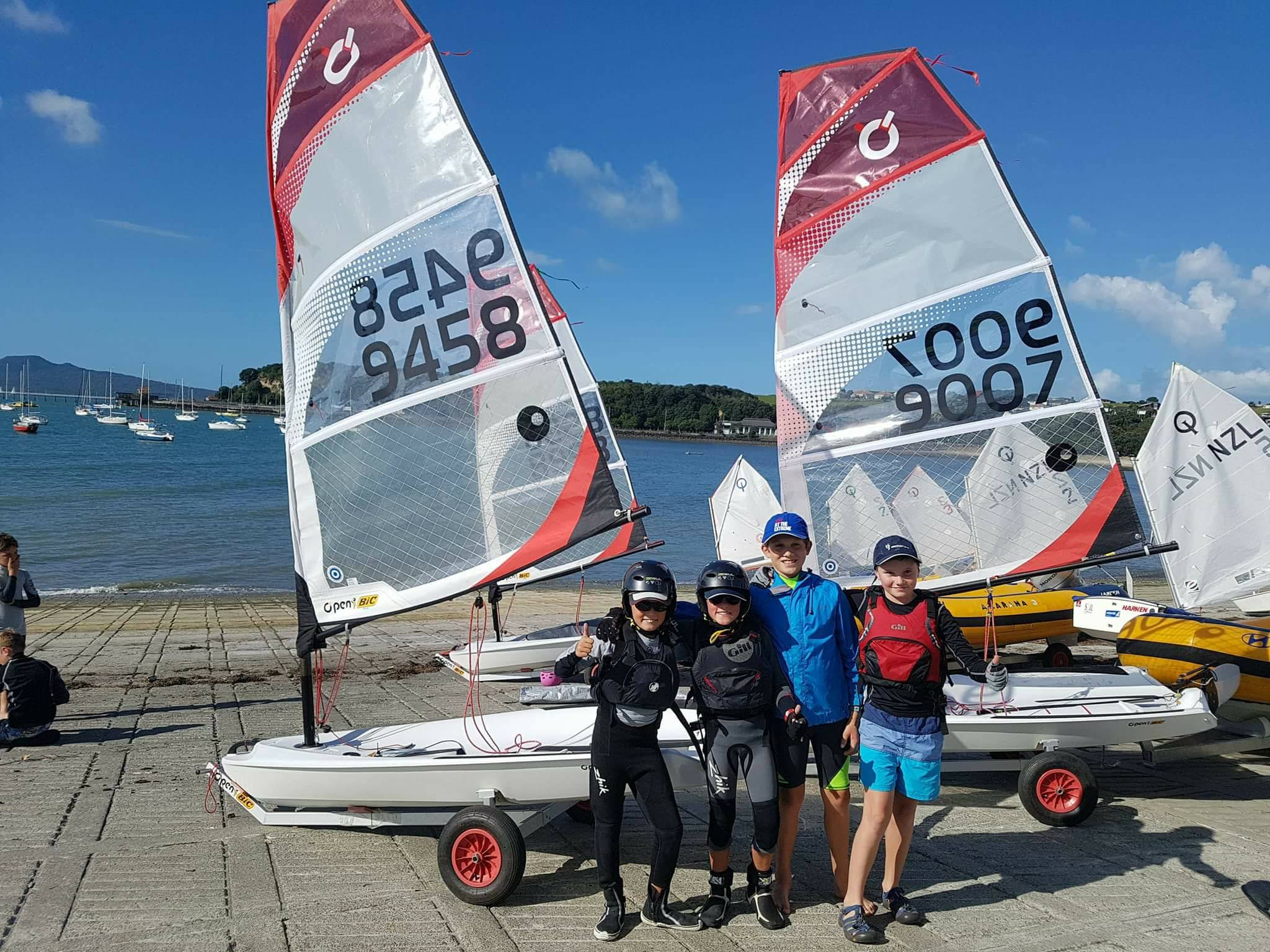 Akarana Sailing Academy introduces the Open Bic Class