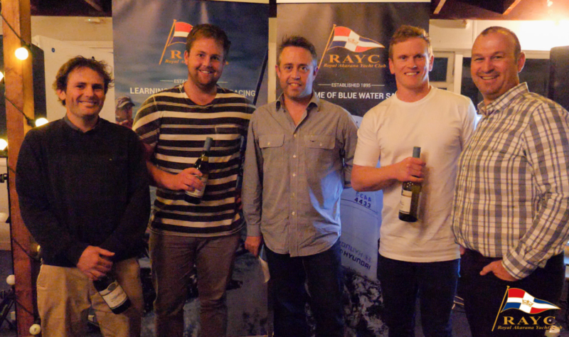 Yachtsman of the Year - Dave McDiarmid, Matt Steve and Brad Collins
