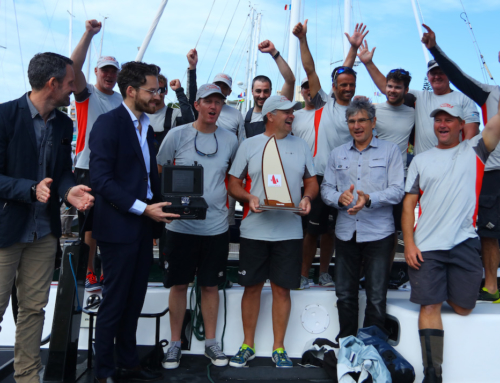 Miss Scarlet claims line honours in Groupama New Caledonia Race
