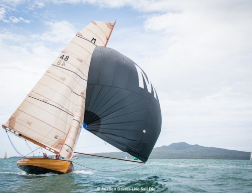 Light and flukey for the first two races of the M-Class Season
