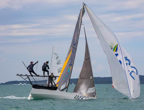 Turbulent season to date for the Kiwi 18′ Skiffs