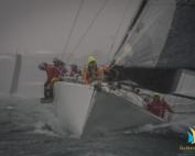 Ran Tan II 2018 Auckland to Noumea Start. Brad Davies Live Sail Die