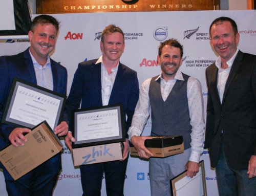 RAYC Sailors receive top honours at Yachting New Zealand Excellence Awards