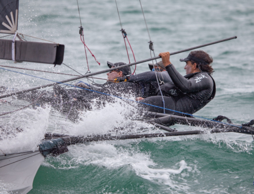 ASCC knocks Honda Marine off their perch – wins the 2019 18′ Skiff NZL National Championship