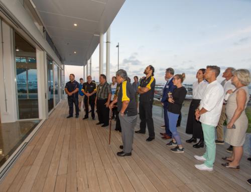 Ngāti Whātua Orākei blessing of the Hyundai Marine Sports Centre