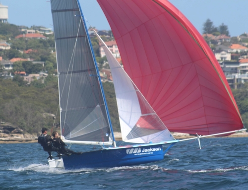 Akarana Team on the Podium at the 59th 12′ Skiff Interdominions