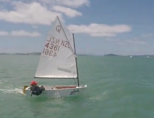 Leo Brown wins Opti Green Fleet at Auckland Champs!