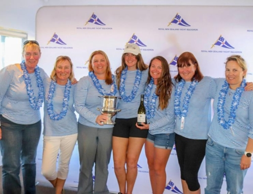 RAYC members Sally Garrett and Jenny Price win Women's National Keelboat Championship
