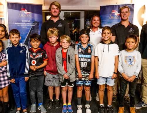 Term 1 Academy Prize Giving celebrates up and coming sailors