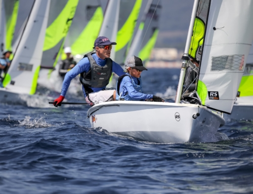 Simon Cooke and Oskar Masfen win RS Feva World Championship
