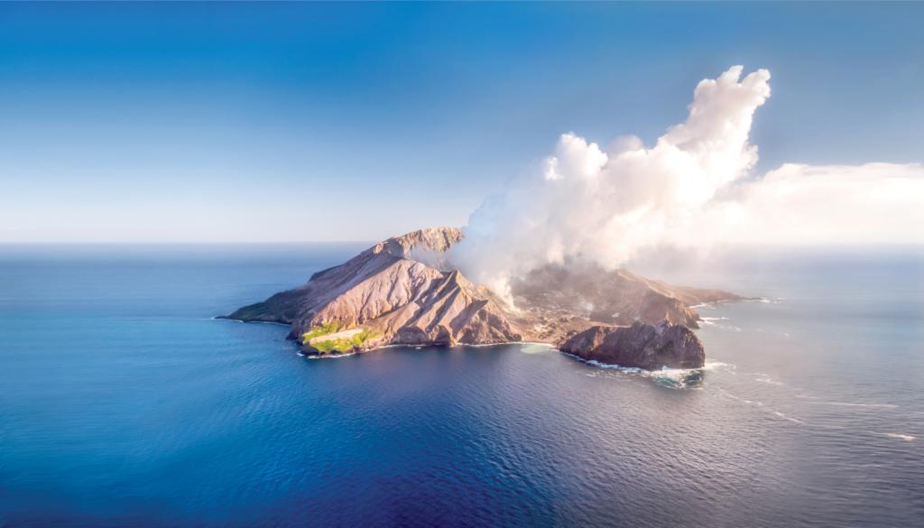 White Island. Photo: Whakatane Council